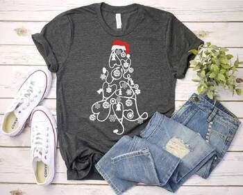 Stethoscope christmas tree SVG - Nurse Squad elf nurse family Mom svg 1595S