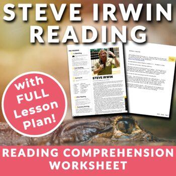 Steve Irwin- ESL Reading, Comprehension Check & Discussion