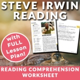 Steve Irwin- ESL Reading, Comprehension Check & Discussion