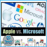 Steve Jobs Apple vs. Bill Gates Microsoft Activity