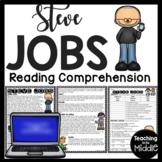Steve Jobs Biography Reading Comprehension; Apple; Inventor; Computer