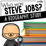 Who was Steve Jobs? A Biography Trifold Unit