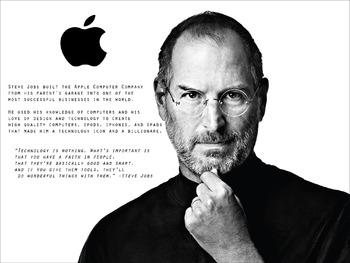 Steve Jobs Classroom Poster