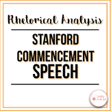 Steve Jobs' Commencement Speech: Rhetorical Analysis Guide