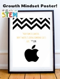 Steve Jobs STEM Growth Mindset Posters - Apple - Technology - Entrepreneur