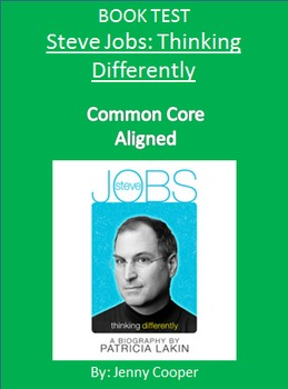 Steve Jobs: Thinking Differently BOOK TEST