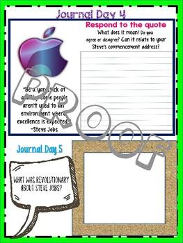 Louisiana Guidebook: Steve Jobs Compatible Workbook