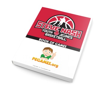 Steve Nash Youth Basketball – Hard Copy Book of Games