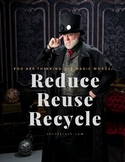 "Earth Day - ""Reduce Reuse Recycle"" - POSTER - FREE"