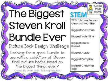 Steven Kroll Books - Biggest Ever Challenges - STEM Picture Book BUNDLE
