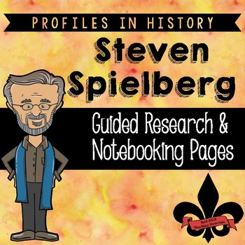 Steven Spielberg Guided Research Activity