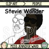 Stevie Wonder Clip Art
