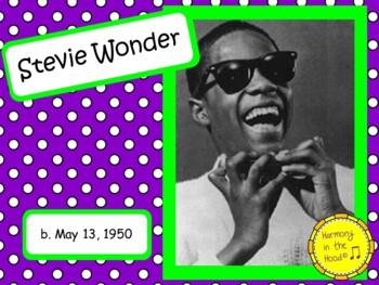 Stevie Wonder: Musician in the Spotlight