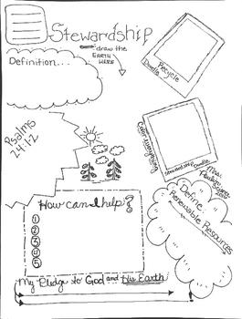 Stewardship Doodle Page