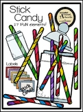Stick Candy Clipart