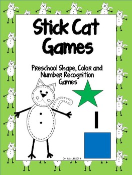 Stick Cat Fun – Games for Preschool to Kindergarten