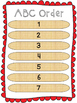 Stick Centers for Word Work