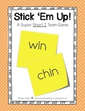 Stick 'Em Up - Phonics or Math Team Game {Freebie}
