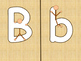 Stick Figure ABCs Upper Case and Lower Case