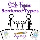 Stick Figure Sentence Types