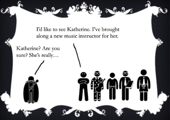Stick Figure The Taming of the Shrew - Shakespeare Summary PowerPoint