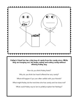 Stick Figure Social Scenes For Inferencing