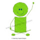 Stick Figures at School - Clip Art Set - Scribble-Effect S