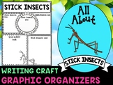 Stick Insects : Graphic Organizers and Writing Craft Set : Insects and Bugs