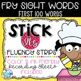 Stick It Fluency Strips: Fry Sight Words First 100 Words