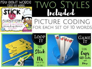 Stick It Fluency Strips: Fry Sight Words Fourth 100 Words