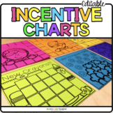 Post It Note Incentive Charts {Print on Cardstock or Post It Notes}