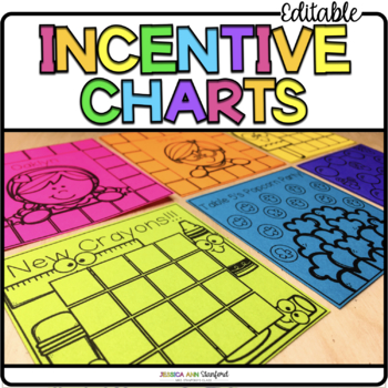 Post It Note Incentive Charts