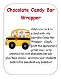 Stick Kid Candy Bar Wrapper