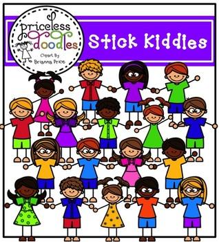 Stick Kiddies (The Price of Teaching Clipart Set)