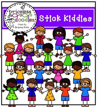 Stick Kiddies (The Price of Teaching Clipart Set)