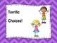 Behavior Clipup Chart - Stick Kids