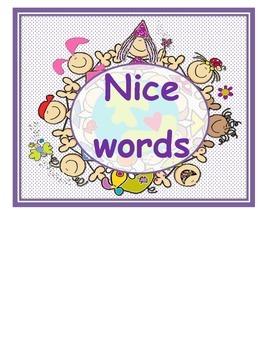 Stick Kids nice words