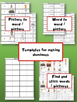 Stick Man Dominoes - Learning through Stories and Craft
