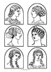 Greek / Roman people - Stick Puppet Templates