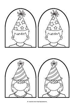 Stick Puppet Templates – Party People