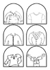 Stick Puppet Templates  -  People  -  draw the head