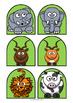 Animal Stick Puppets - 102 animals
