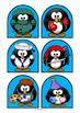 Penguins - Stick Puppets