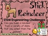Stick Reindeer ~ STEM Engineering Challenges Pack ~ Christmas STEM