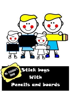 Stick School Boys