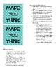 Stick Starters Brain Teaser Minute Savers