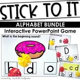 Alphabet PowerPoint Game   Stick to It