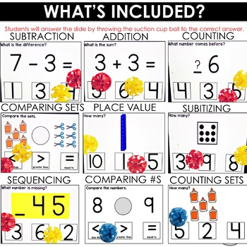 Number Sense | Stick to It Numbers to 10 Interactive PowerPoint Game