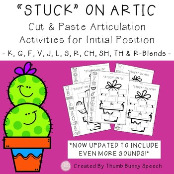 Stick Together Bundle - Social Skills, Core Vocabulary & Articulation
