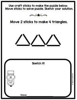 Stick Tricks Logic Problems
